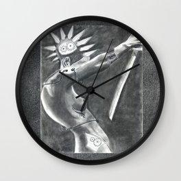 Seppuku Wall Clock