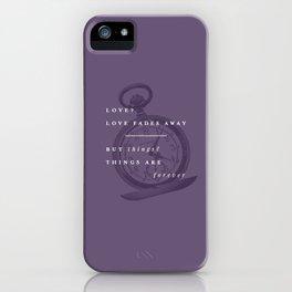 P + R Love iPhone Case