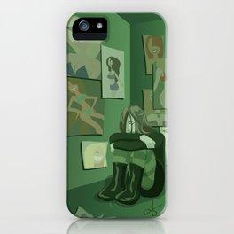 Seven Sinful Ladies: Envy iPhone Case
