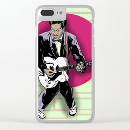 Chuck Berry Clear iPhone Case