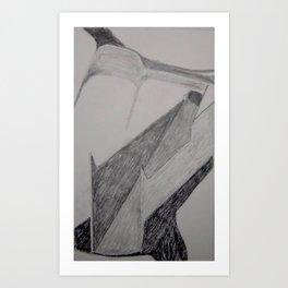 Staple Puller Art Print