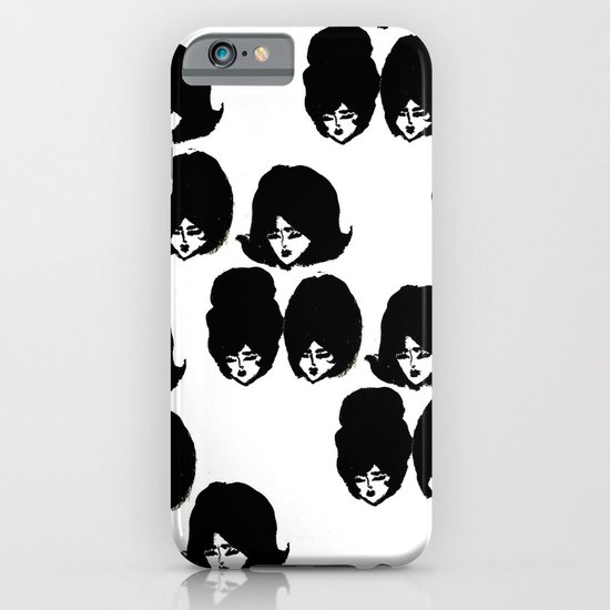 Bouffant Girls II iPhone & iPod Case
