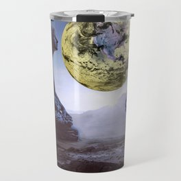 The World is in Our Hands Travel Mug