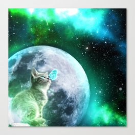 Cosmic Encounter Canvas Print