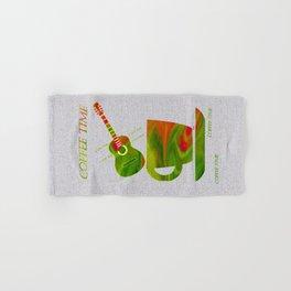 Colorful Art Coffee Time Hand & Bath Towel