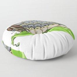 The Smol Hungry Caterpillar (Armyworm) Floor Pillow