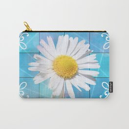 Large Daisey Carry-All Pouch
