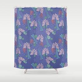 Botanical Geometry-H01 Shower Curtain
