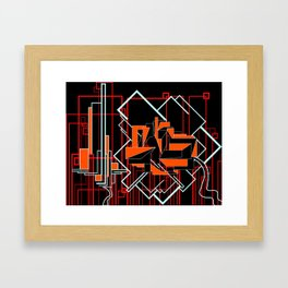 FUTURE FORMS OF EARTH (an adventure in neo-organics) Framed Art Print