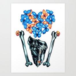 Love & Money Art Print