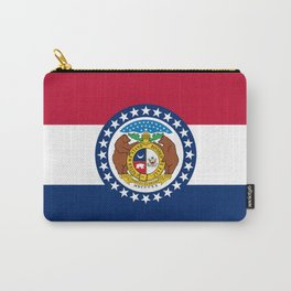 Missouri State Flag Carry-All Pouch