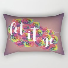 Let It Go Rectangular Pillow