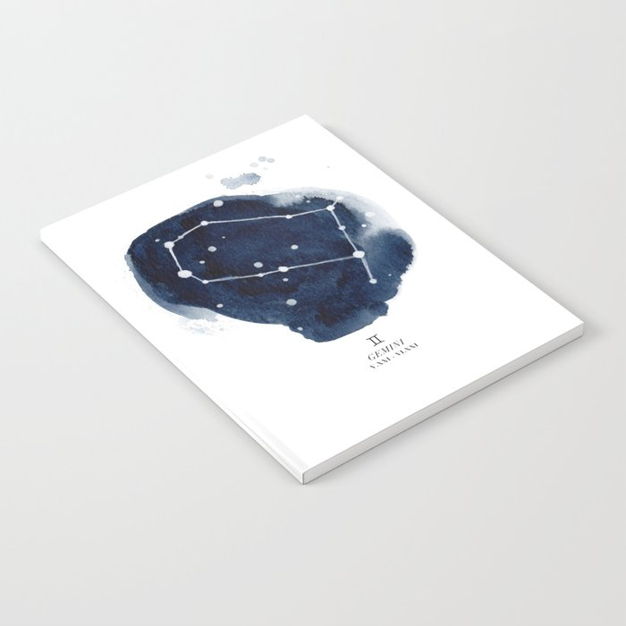 Zodiac Star Constellation - Gemini Notebook