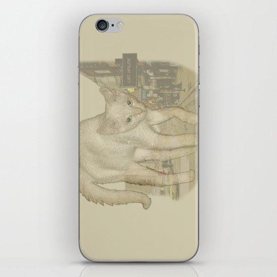 Ghost Kitty iPhone & iPod Skin