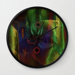 """""""Line & Shape 2"""" Wall Clock"""