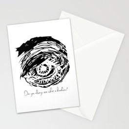 Invisible sight Stationery Cards