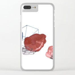 Watercolor II Clear iPhone Case