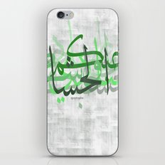 calligraphy iPhone & iPod Skin