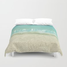 Live In Awe Duvet Cover