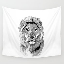 Animal Prints - Proud Lion - By Sharon Cummings Wall Tapestry