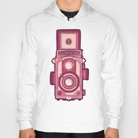 vintage camera Hoodies featuring Vintage Camera by evannave