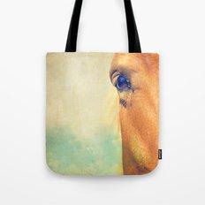 Horse Dreaming Tote Bag
