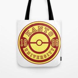 Kanto University 96 logo Tote Bag