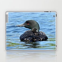 Sleepy time baby loon Laptop & iPad Skin