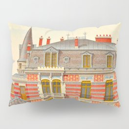 Brick constructions; ordinary brick from a decorative point of view - J. Lacroux and C. Détain - 187 Pillow Sham