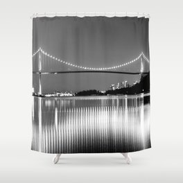 Lions Gate Shower Curtain