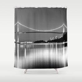 Lions Gate Shower Curtain