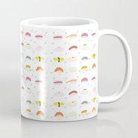 sushi Mugs featuring Sushi by Alysha Dawn