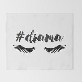#Drama   Lashes Throw Blanket