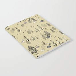 Forrest Pattern Notebook