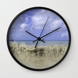 Antigua Wave Wall Clock