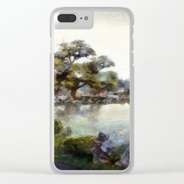Asia Winter Clear iPhone Case