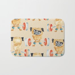 Pug Lift Sweat Bath Mat