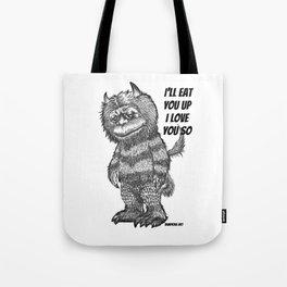 Love you so Tote Bag
