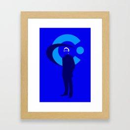 Elliot Carver Framed Art Print