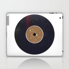 Vinyl Record Star Sign Art | Gemini Laptop & iPad Skin