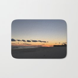 Long Beach Long Island Sunset Bath Mat