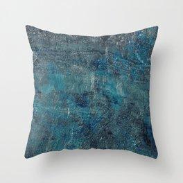 Celestite Canyon Throw Pillow