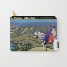 Vintage Poster - Nez Perce National Historic Trail (2018) Carry-All Pouch