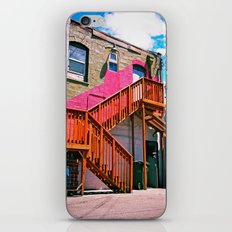 Alleyway architecture iPhone & iPod Skin