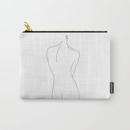 Nude female figure - Cosma Carry-All Pouch