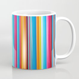 Colorful Rainbow Pipes Coffee Mug