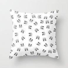 Pandamonio Panda Pattern Throw Pillow
