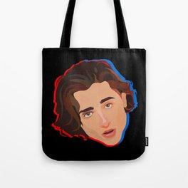 Timothée Chalamet in 3D Tote Bag