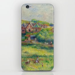 """Auguste Renoir """"Le châlet de Blanche Pierson à Pourville"""" iPhone Skin"""