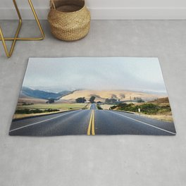 Beautiful scenics along Route 46 in California State Route 46 Old Mammoth Road Rug